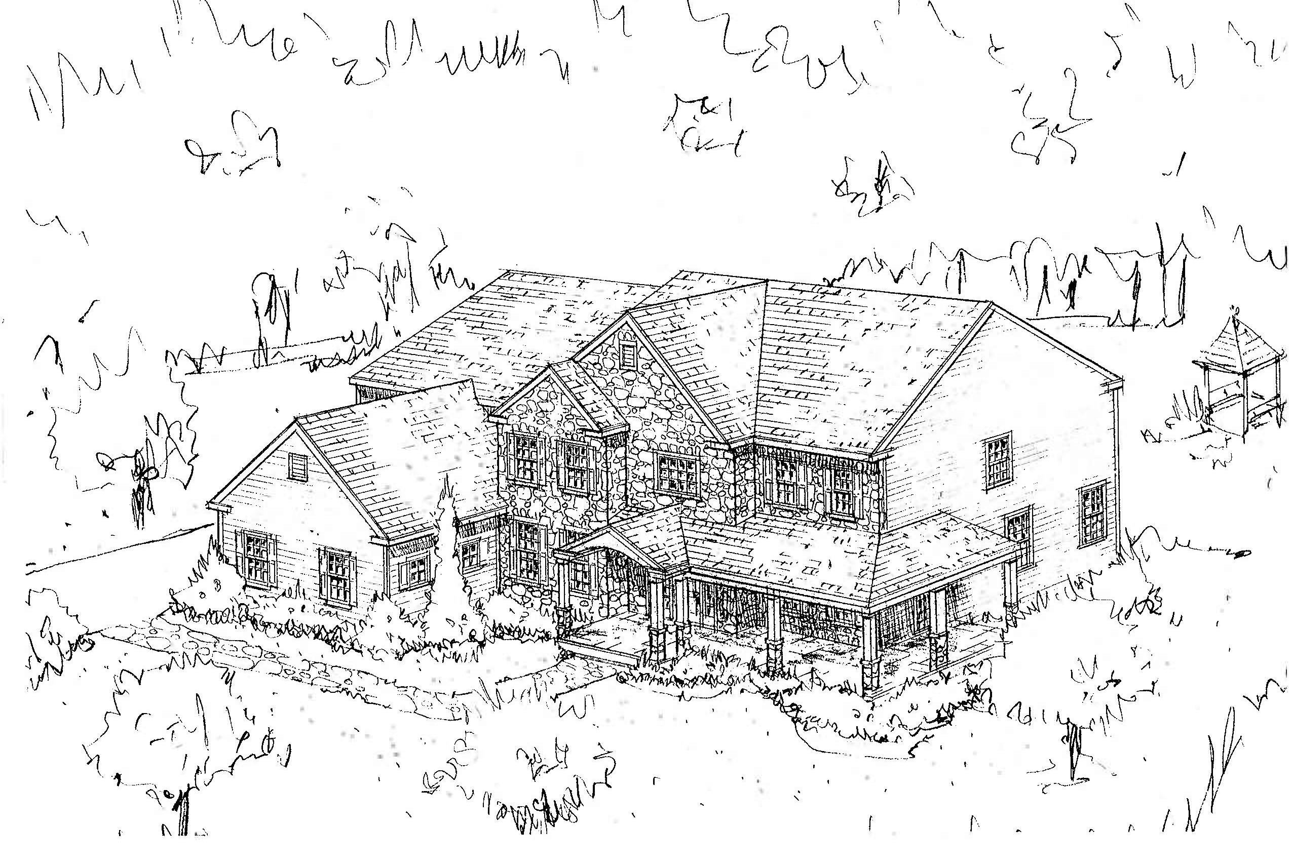 Free home plans spec home plans for Spec house plans