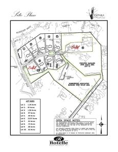 Cattials Site Plan